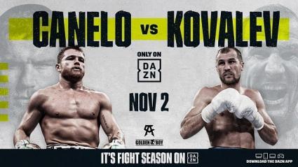 Официально: Канело vs. Сергей Ковалев 2 ноября в Лас-Вегасе