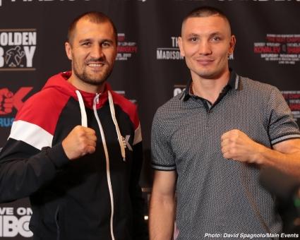 Бой Ковалева и Шабранского будет титульным.