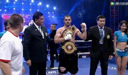 Гасан Гасанов новый чемпион по версиям WBO Asia Pacific и WBA Asia.