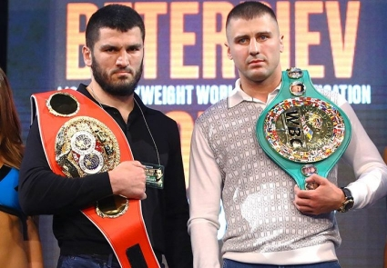 Александр Гвоздик и Артур Бетербиев встретились лицом к лицу на пресс-конференции