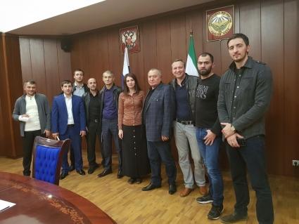 В Ингушетии прошло заседание оргкомитета по организации вечера профессионального бокса
