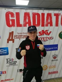 Результаты поединков вечера профессионального бокса  GLADIATOR