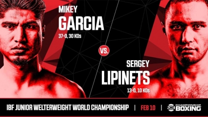 Майки Гарсиа отобрал титул у Сергея Липинца