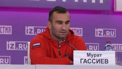 Гассиев и Валлиш провели пресс-конференцию в Москве