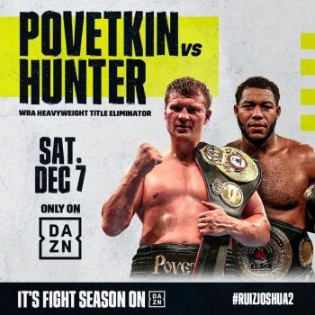 Официально: Александр Поветкин против Майкла Хантера. Элиминатор на чемпионский пояс WBA